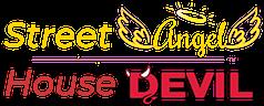 Street Angel House Devil Logo